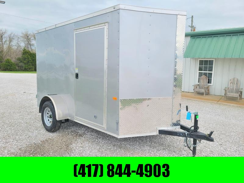 2021 Rock Solid 6 X 10  Enclosed Cargo w/ Barn Doors