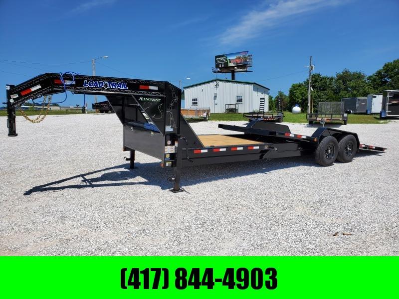 "2020 Load Trail 83"" X 24' Tilt-N-Go Gooseneck Tandem Axle Tilt Deck I-Beam Frame"