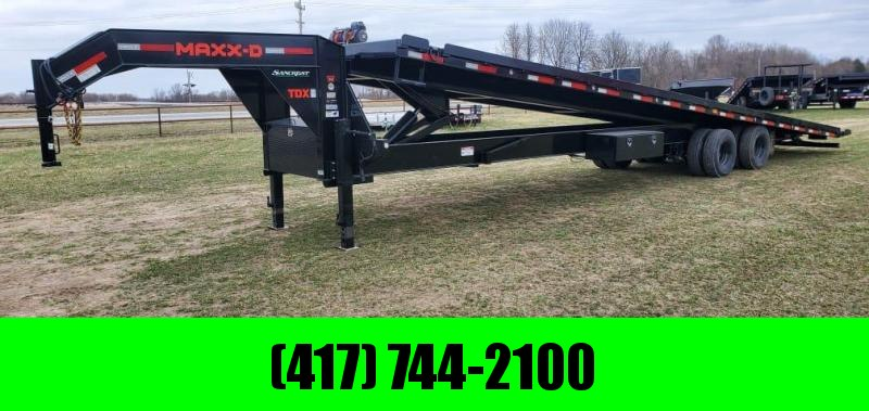 2021 MAXXD 102X40 TANDEM FULL TILT W/12K DISC 14PLY 17.5K WINCH & CONTAINER SPECS