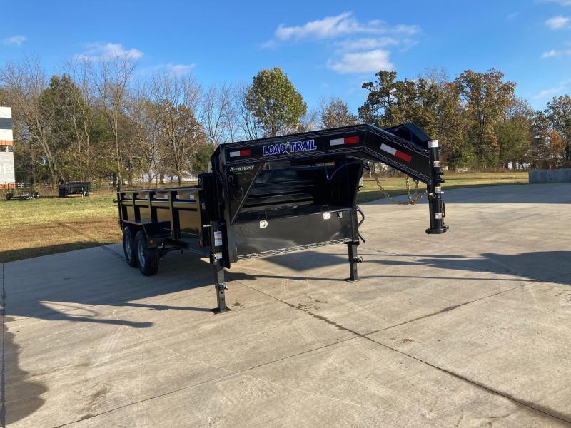 2021 Load Trail 83x16 Tandem GN Dump Trailer