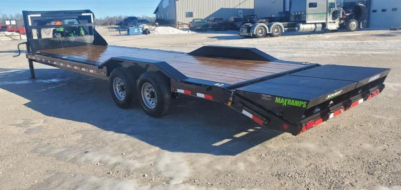2021 Load Trail 102X30 TANDEM 14K GN CAR HAULER W/MAX RAMPS