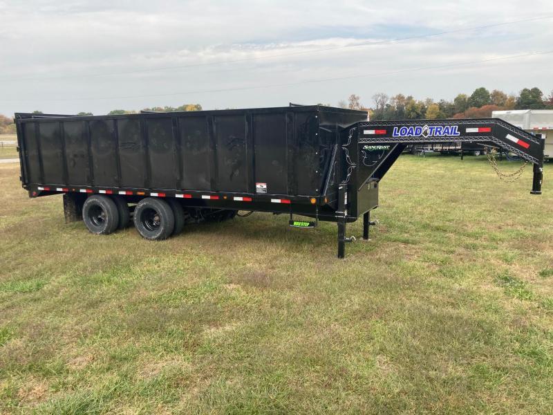 2021 Load Trail 102x20 Tandem 24K GN Dump Trailer W/4FT Sides and 23K Hoist