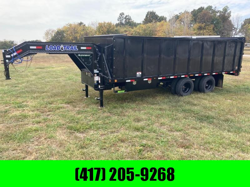 2021 Load Trail 102x20 Tandem 24K GN Dump Trailer W/4FT Sides and 23K Hoist