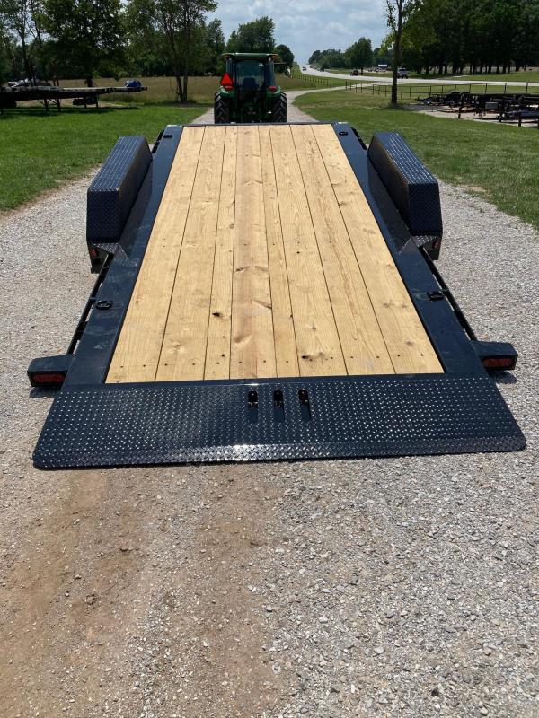2021 Load Trail 83X20 TANDEM 14K W/ 16' TILT & 4' STATIONARY