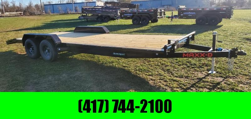 2021 MAXXD 83X22 TANDEM 10K C5X CAR HAULER W/SLIDE OUT RAMPS