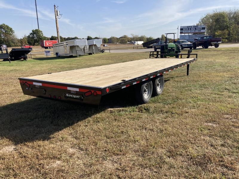 2021 Load Trail 102x24 Deck Over Equipment Trailer W/Slide In Ramps