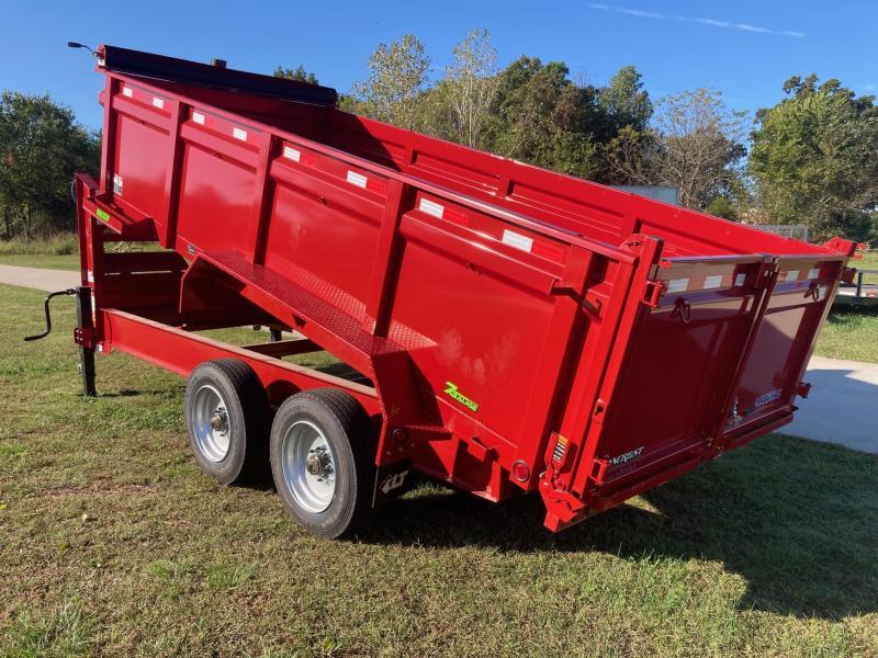2022 Load Trail 83x16 Tandem 22K GN Telescopic Dump Trailer W/ 3' Sides & 7-Gauge Floor