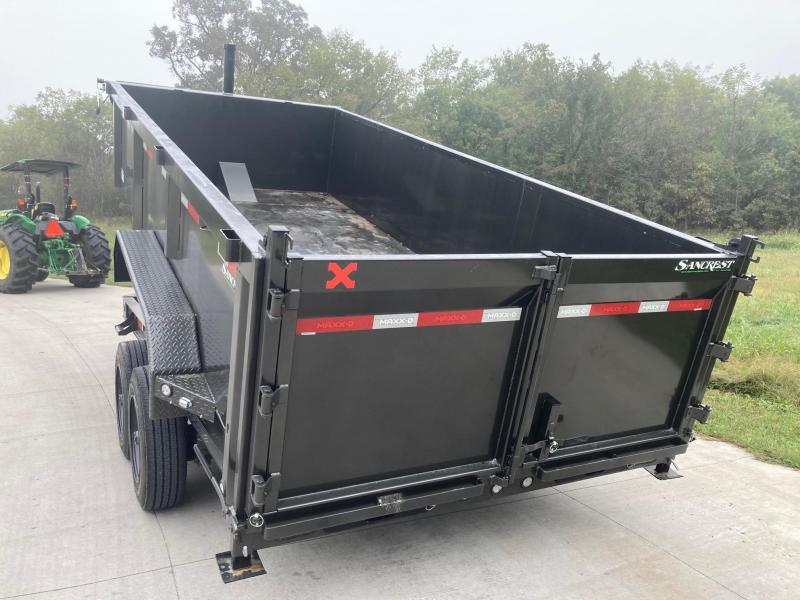 2022 MAXXD 83x16 Tandem 16K Telescopic Dump Trailer
