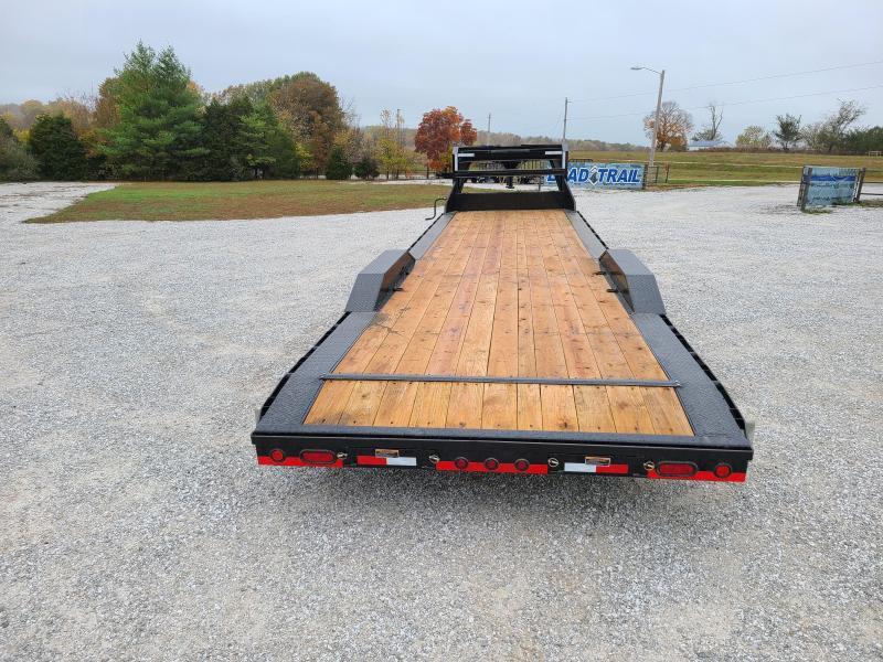 2021 Load Trail 102X32 TANDEM 14K GN CAR HAULER W/STAB JACKS & SLIDE OUT RAMPS