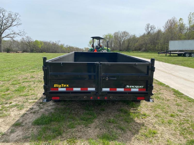 2021 Big Tex Trailers 83x14 Tandem 16K Dump Trailer