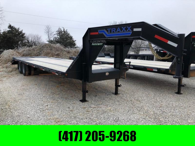2021 Traxx 102x30 Tandem Low-Pro GN Flatbed Trailer