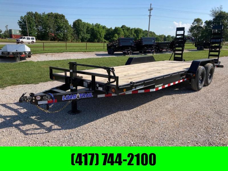 2021 Load Trail 83X22 TANDEM 14K CARHAULER W/ 2' DOVE & STAND UP RAMPS