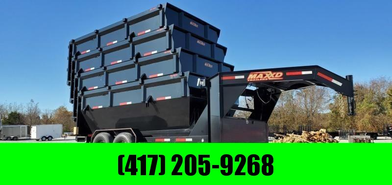 2021 MAXXD Roll Off Bin and Trailer