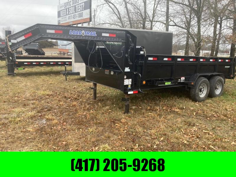 2019 Load Trail 83x16 Tandem GN Dump Trailer
