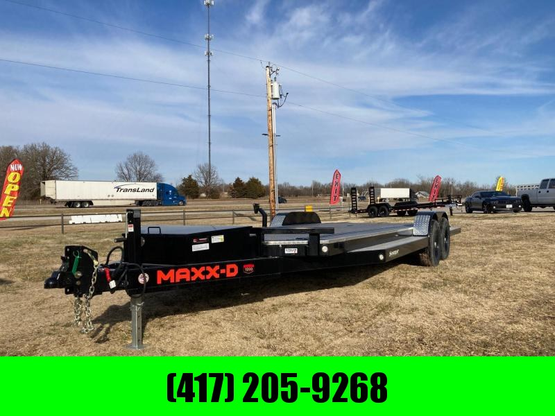 2021 MAXXD 83x22 Tandem Carhauler/ Equipment Trailer W/ Steel Floor