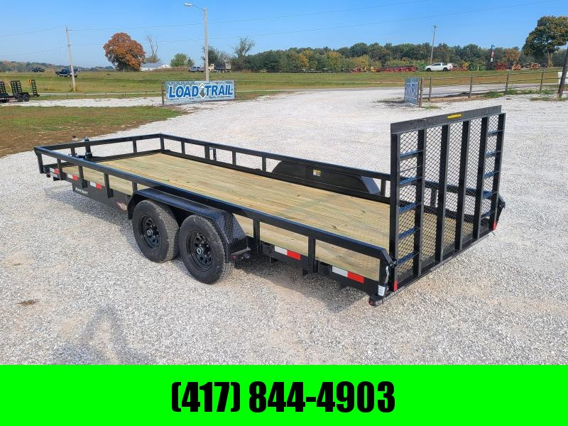 2021 H and H Trailer UTILITY ATV Trailer