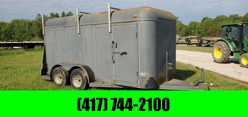 1999 Kodiak 6X16 TANDEM 7K CARGO W/LADDER RACK & BARN DOORS
