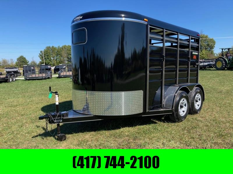 """2022 Calico 6X12X6'6"""" TANDEM 7K STOCK W/ FRONT ESCAPE AND REAR SLIDING DOOR"""