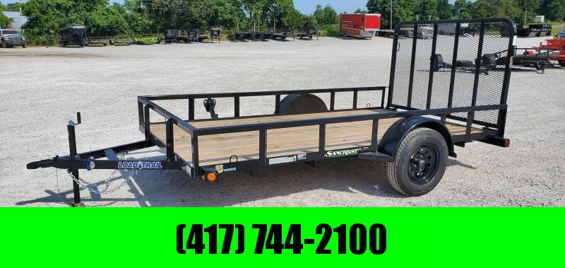 2020 Load Trail 77X12 SINGLE 3.5K  UTILITY W/TUBE TOP RAILING & 4' TUBE GATE