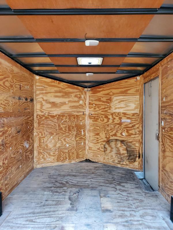 2016 Covered Wagon Trailers 8.5 X 14 CARGO W/ BARN DOORS , 5200LB AXLES