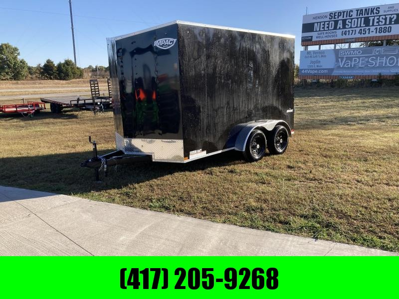 2021 Impact Trailers Tandem Enclosed Cargo Trailer
