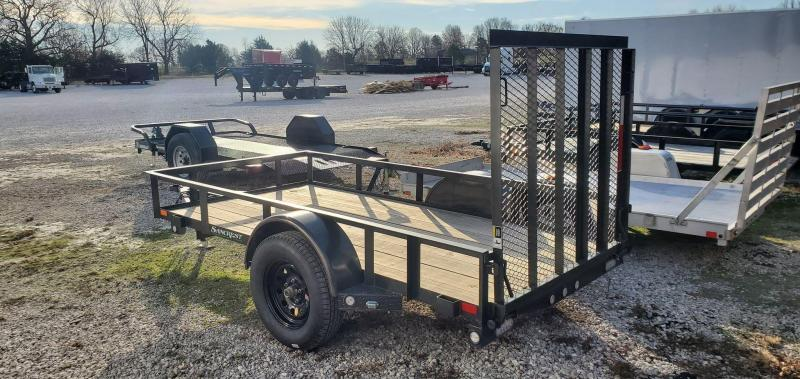 2020 MAXXD 61X10 SINGLE AXLE S3X UTILITY W/4' SPRING GATE
