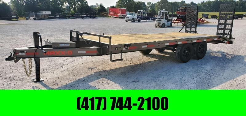 2021 MAXXD 96x20 14k Tandem Deckover Equipment Trailer