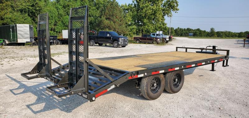 2021 MAXXD 96x20 14k Tandem Deckover Equipment Trailer