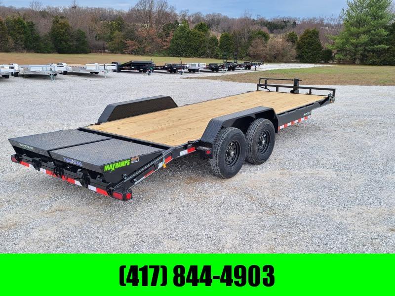 2021 Load Trail 83X22 TANDEM 14K EQUIPMENT HAULER W/MAX RAMPS