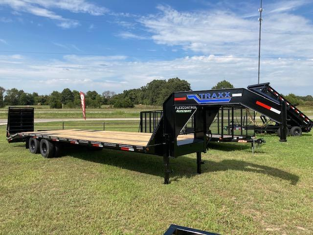 2021 Traxx 102X30 24k Tandem Dual Gooseneck Equipment Trailer