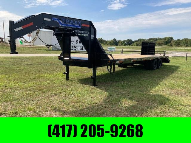 2021 Traxx 102X30 24k Tandem Dual Gooseneck Equipment Trailer