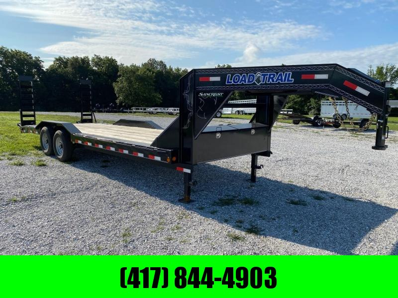2020 Load Trail 102X24 GN CAR HAULER W/STAND UP RAMPS