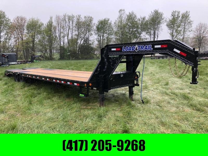 2021 Load Trail 102x40 TANDEM DUAL 12K AXLES W/ MAX RAMPS