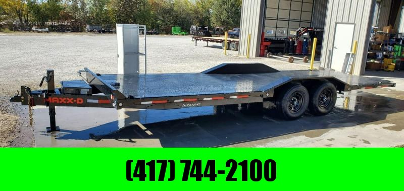 2021 MAXXD 102X24 TANDEM 14K T8X POWER TILT W/ STEEL DECK