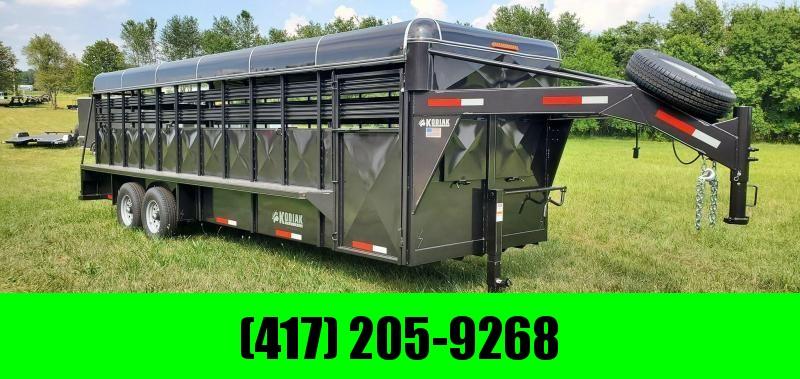 2020 Kodiak Tandem Axle Livestock Trailer