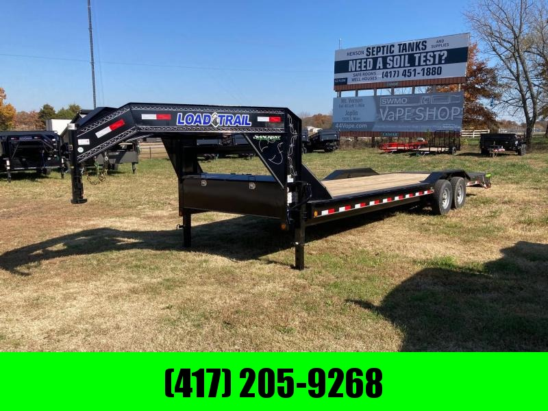 2021 Load Trail 102x28 Tandem 14K Gooseneck Equipment Trailer