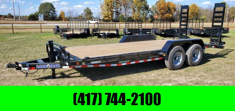 2021 Load Trail 83X20 TANDEM 14K EQUIPMENT HAULER W/FLIP UP RAMPS