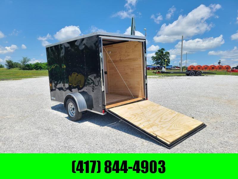 2021 Rock Solid 6 X 10  Enclosed Cargo w/ Ramp Doors