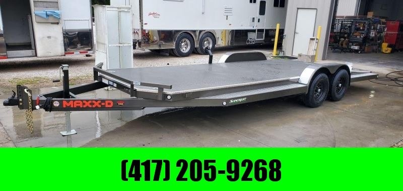2021 MAXXD 83X22 TANDEM 10K METALLIC GRAY N6X CAR HAULER W/SPLIT TAIL