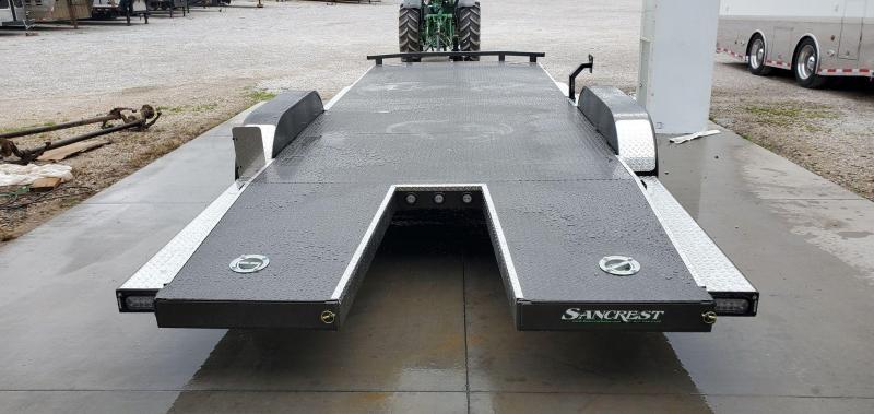 2021 MAXXD 83X22 TANDEM 10K METALLIC GRAY N6X CAR HAULER W/SPLIT TAIL
