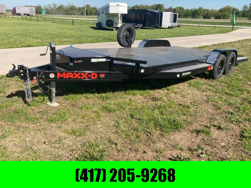 2021 MAXXD 83x20 Tandem 7K Car / Racing Trailer