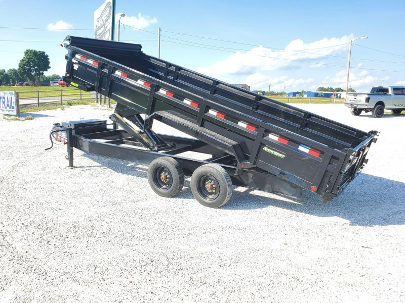 "2020 Load Trail 83"" x 20' Tandem Axle 12"" I-Beam Heavy duty Dump"