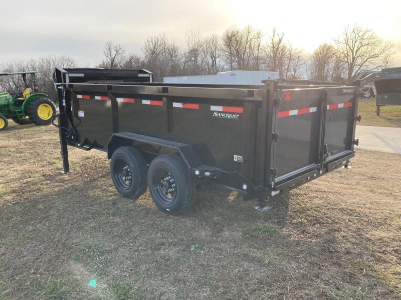 2021 MAXXD 83x14 Tandem GN Dump Trailer W/ 3 FT Sides