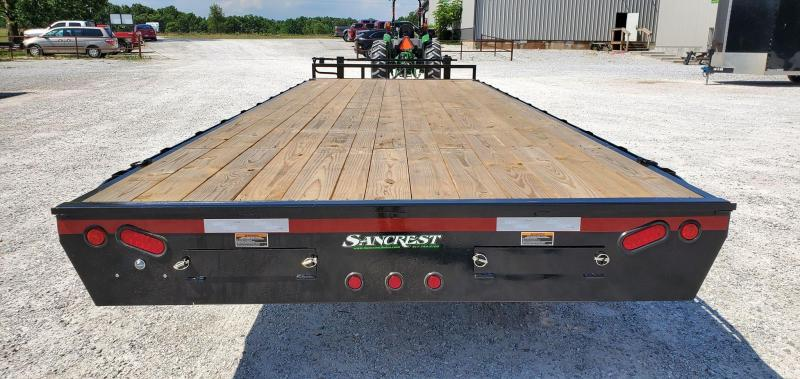 2020 Load Trail 102X24 TANDEM 14K DECKOVER W/8'SLIDE OUT RAMPS