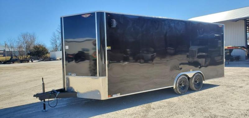 2021 H&H 8.5X20 TANDEM 10K CARGO W/7' HEIGHT