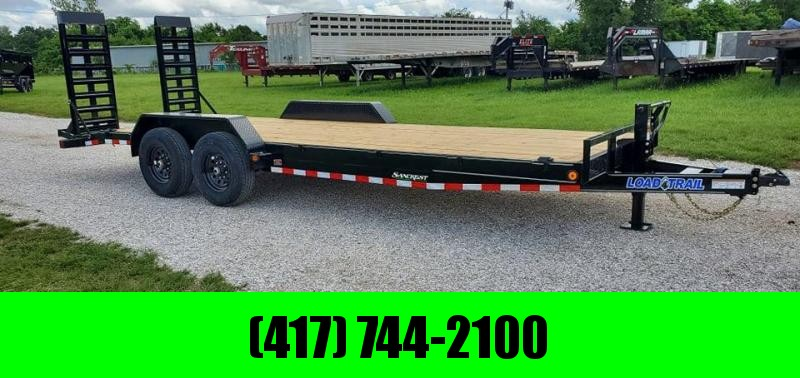 2021 Load Trail 83X22 TANDEM 14K EQUIPMENT HAULER W/WIDE STAND UP RAMPS