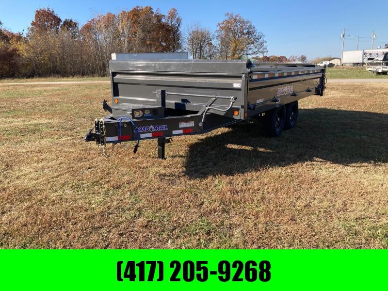 2021 Load Trail 96x16 Tandem 14K Deck Over Dump Trailer