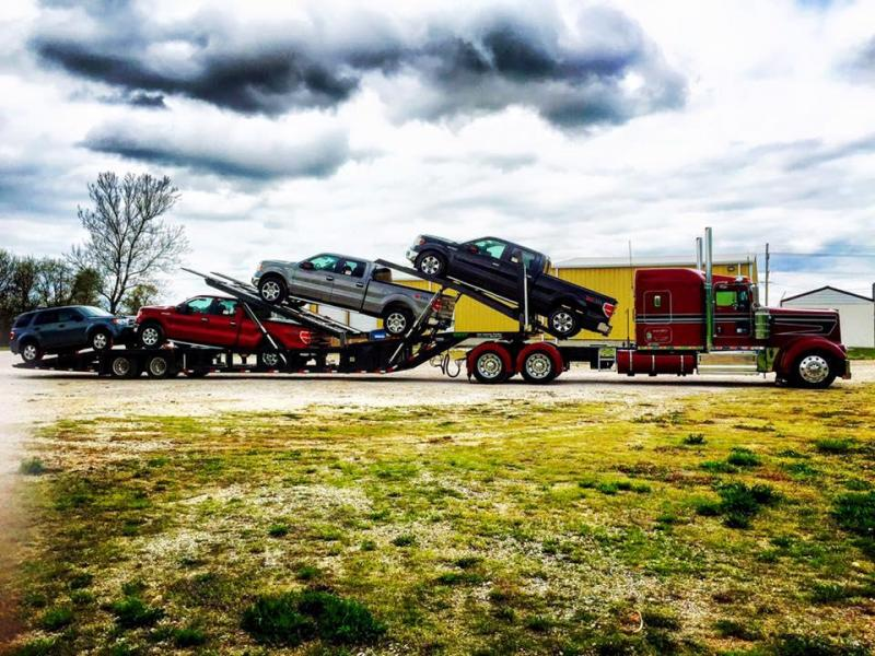 2021 53' NEXT GEN ANNIVERSARY 5 CAR HAULER Air Ride/ Air Brake w/ Two Lift and Tilt