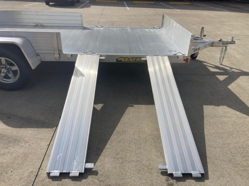 2022 Aluma 81x14 Single Axle Aluminum Utility Trailer