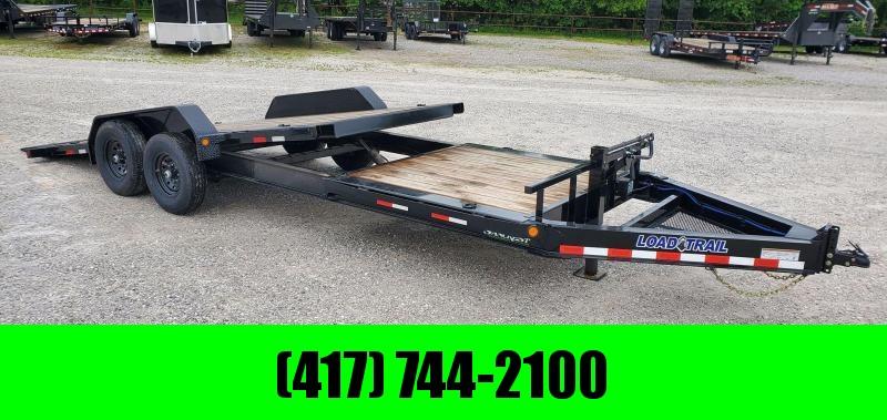 2020 Load Trail 83X22 TANDEM 14K GRVITY TILT w/6' STATIONARY DECK